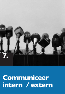 7 Communiceer